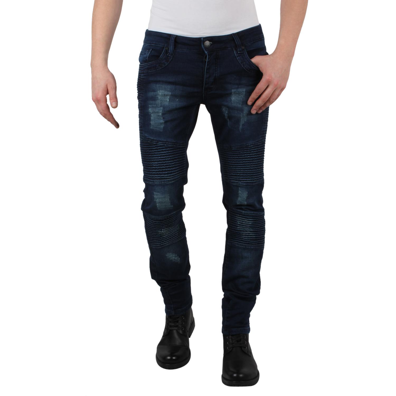 tazzio herren jeans 87293 denim skinny used look stretch. Black Bedroom Furniture Sets. Home Design Ideas