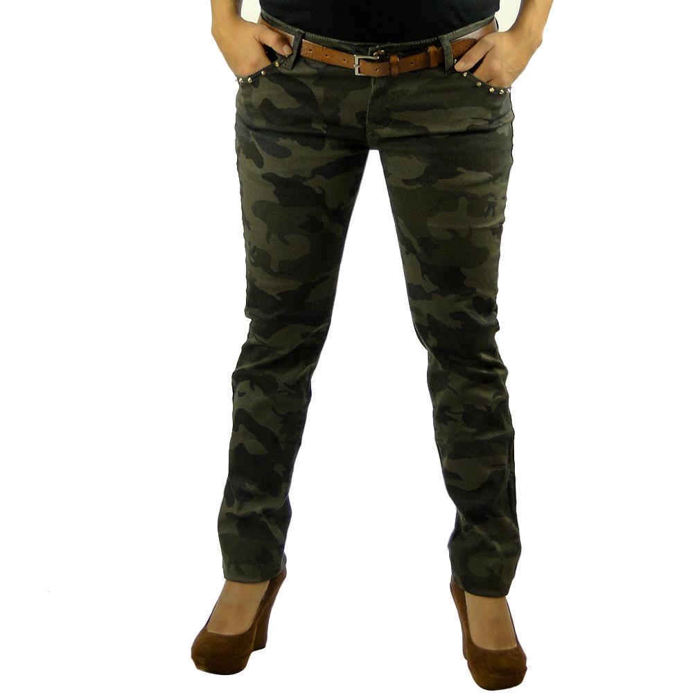 sexy damen armee army jeans 85020 hose r hrenjeans. Black Bedroom Furniture Sets. Home Design Ideas
