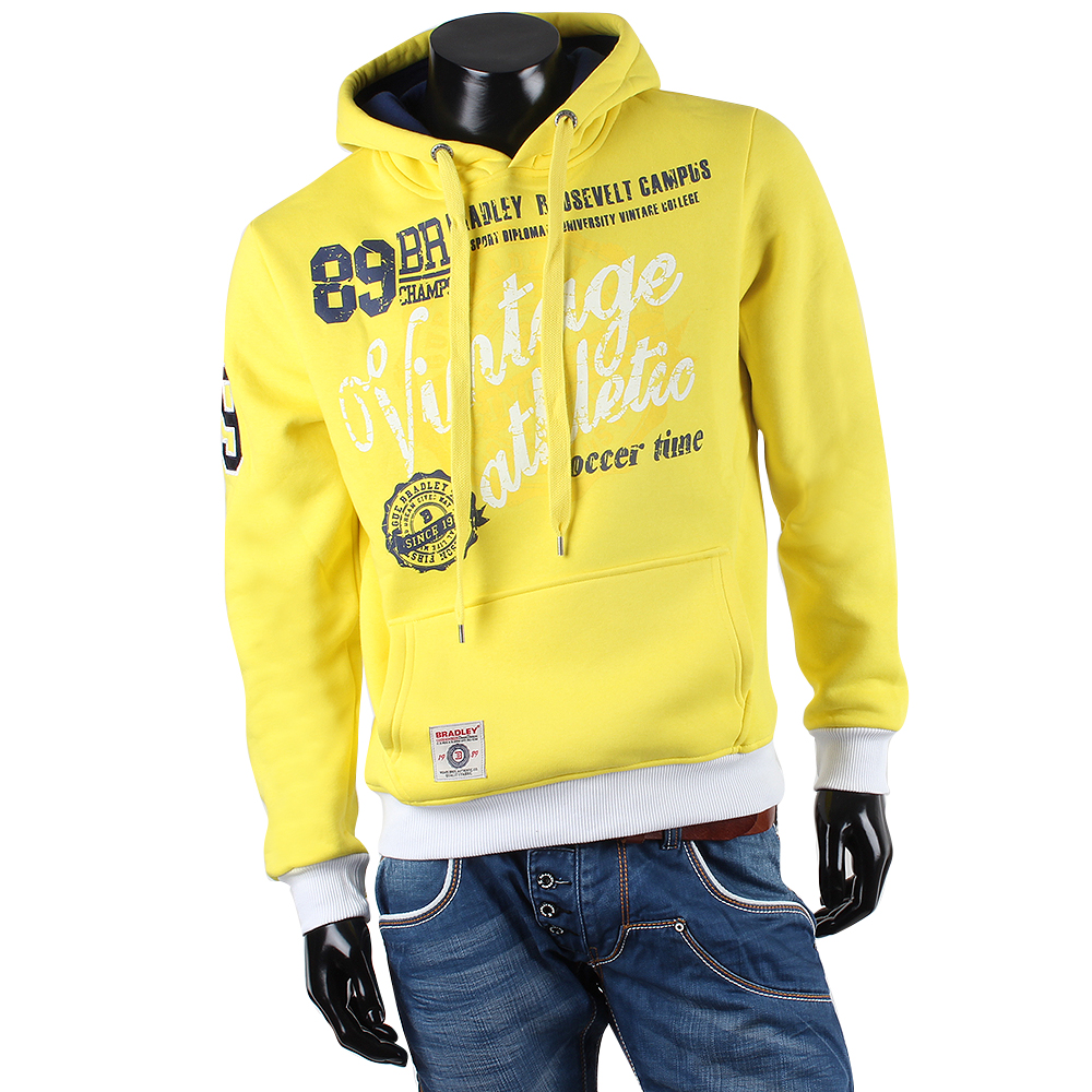 bradley cooler herren kapuzen pullover 85081 sweatshirt jacke hoddie hoody s xxl ebay. Black Bedroom Furniture Sets. Home Design Ideas