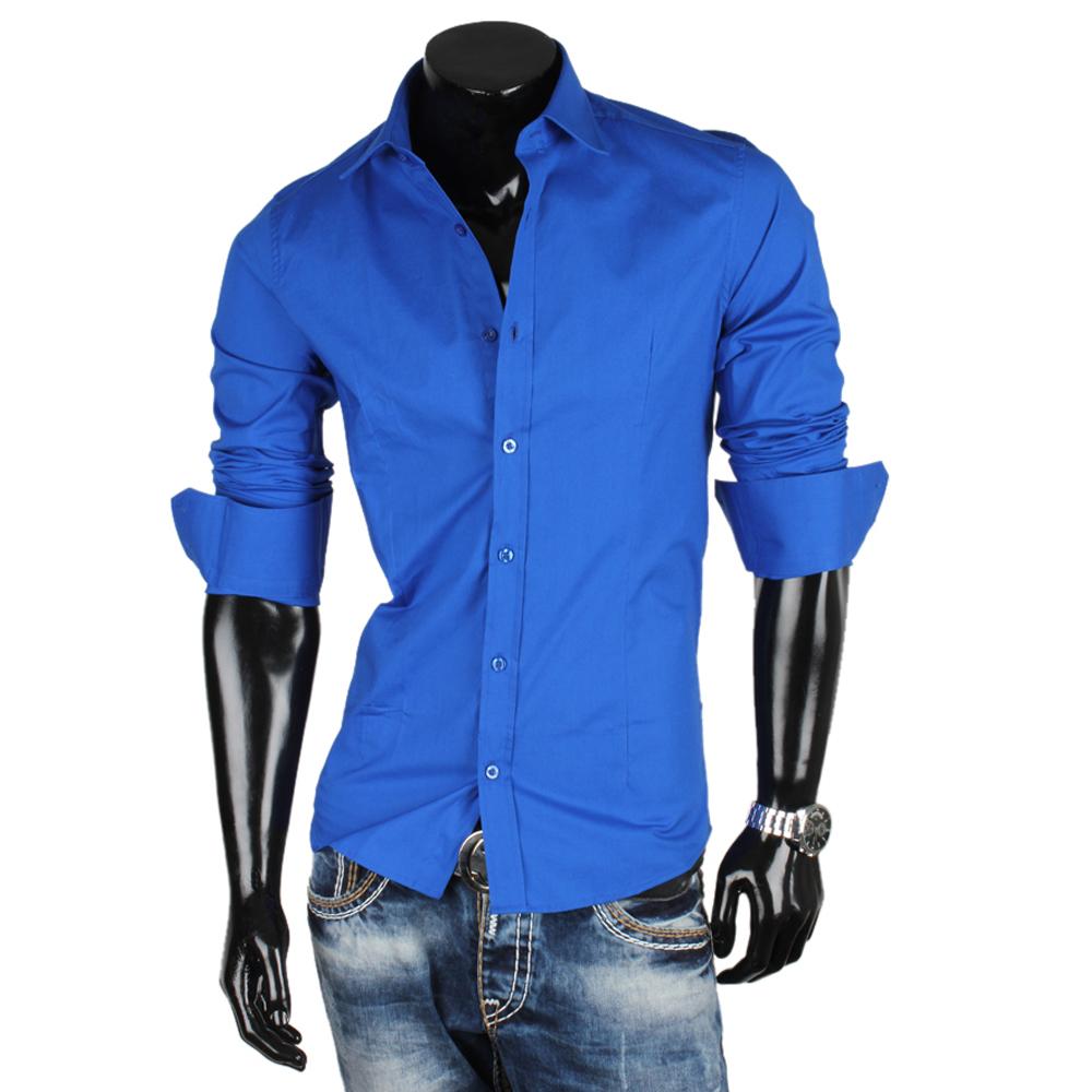 REDBRIDGE BY CIPO & BAXX Herren Hemd 85009 Langarm Slim Fit Party Polo Shirt Neu