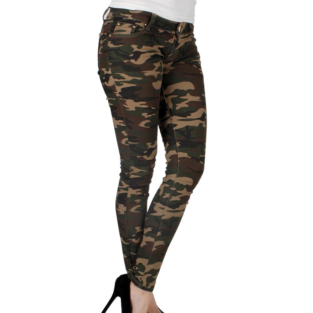 sexy damen armee army jeans 85084 hose r hrenjeans. Black Bedroom Furniture Sets. Home Design Ideas