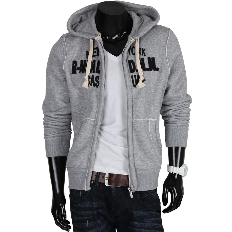 r neal herren kapuzen pullover 85237 sweatshirt jacke zipper hoodie s xxl neu ebay. Black Bedroom Furniture Sets. Home Design Ideas
