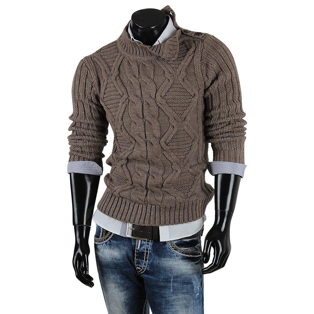 r neal herren pullover 85256 grobstrick winter sweatshirt. Black Bedroom Furniture Sets. Home Design Ideas
