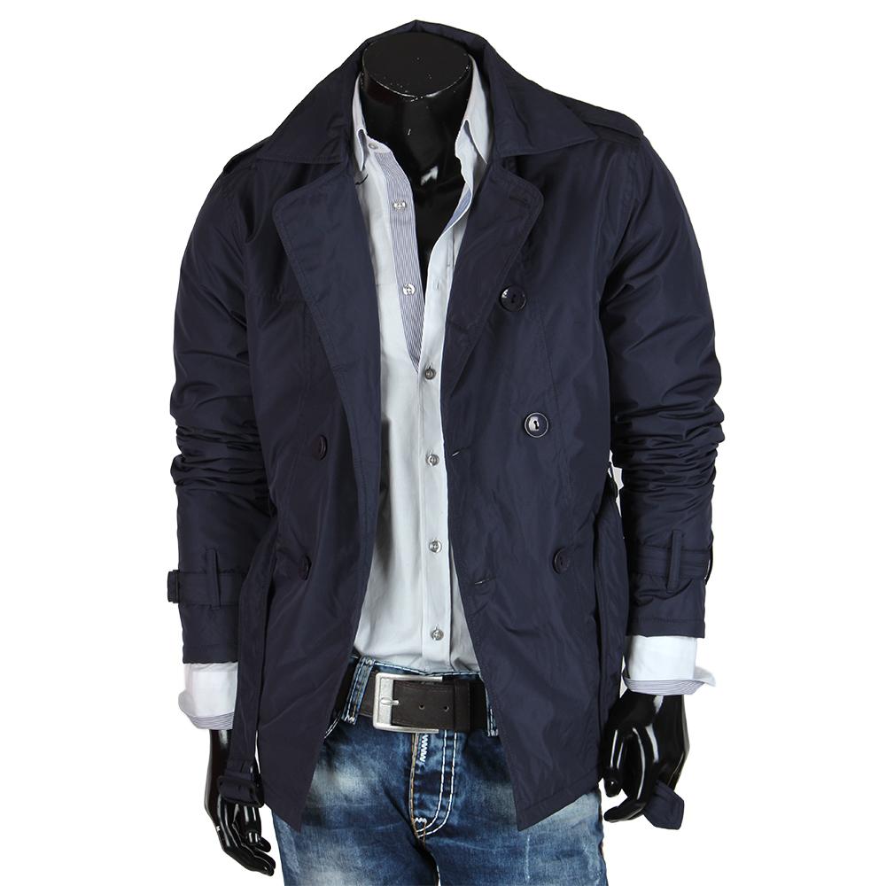 tazzio herren jacke 85262 trenchcoat parka mantel winter. Black Bedroom Furniture Sets. Home Design Ideas