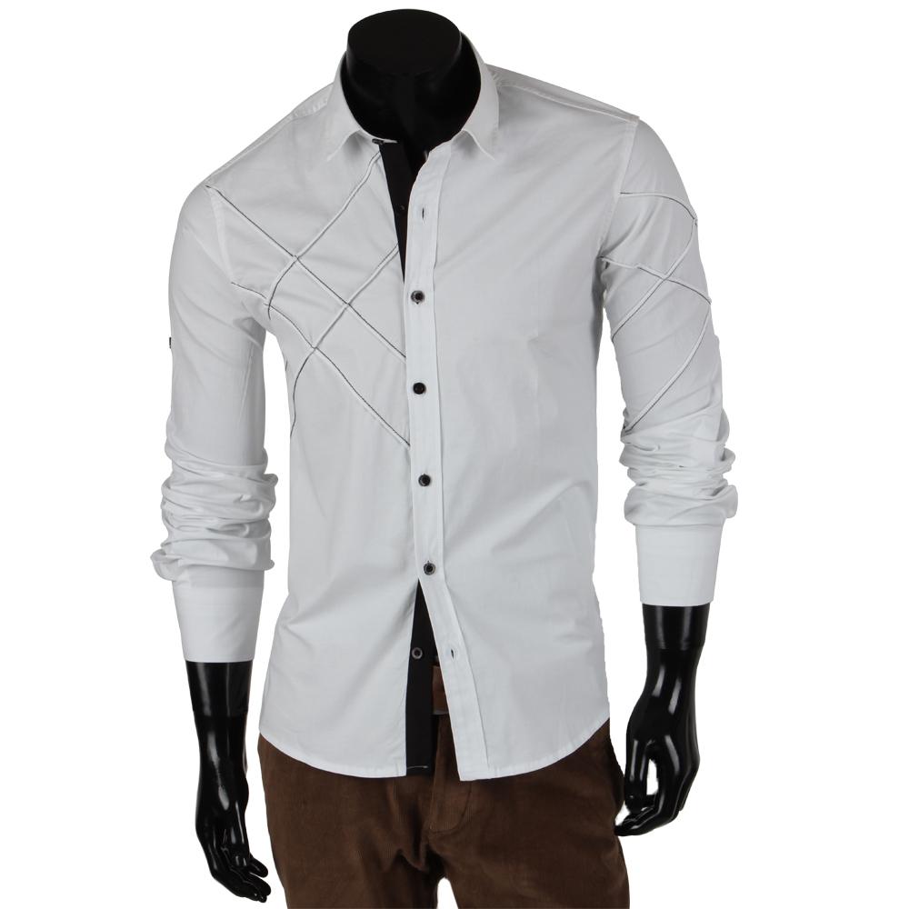 tazzio herren hemd 85302 langarm polo poloshirt slim fit t. Black Bedroom Furniture Sets. Home Design Ideas