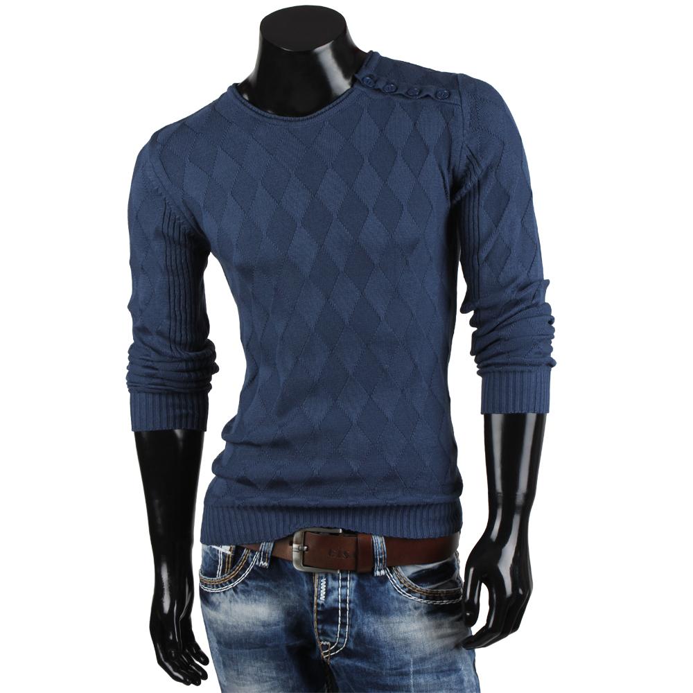 TAZZIO Herren Pullover 85326 Feinstrick Strickjacke Cardigan Jacke S-XXL Neu