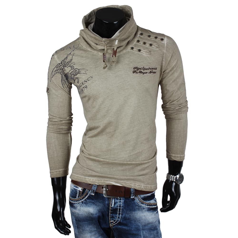 tazzio herren langarm t shirt 85334 longsleeve hemd pullover sweatshirt neu ebay. Black Bedroom Furniture Sets. Home Design Ideas