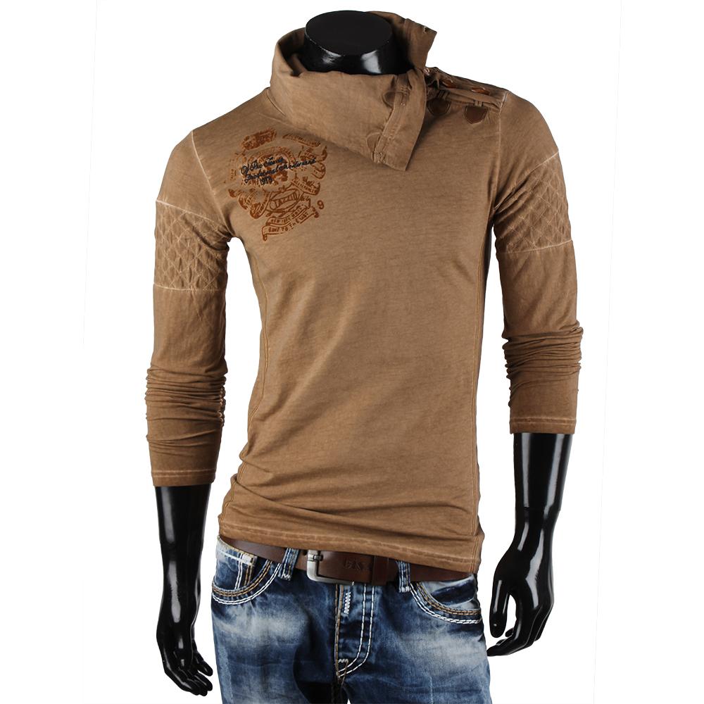tazzio herren langarm t shirt 85373 longsleeve hemd. Black Bedroom Furniture Sets. Home Design Ideas