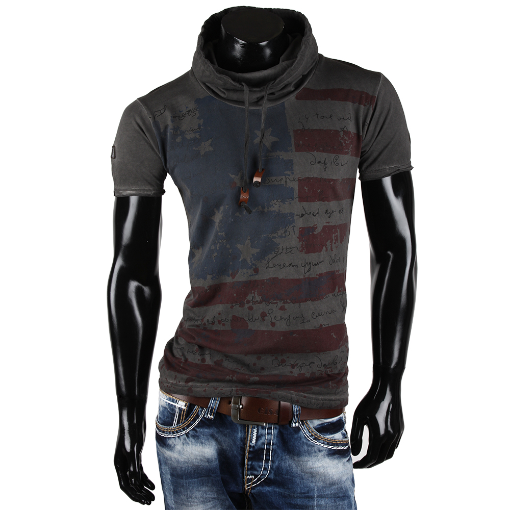 tazzio herren t shirt 85409 poloshirt polo hemd slim fit. Black Bedroom Furniture Sets. Home Design Ideas