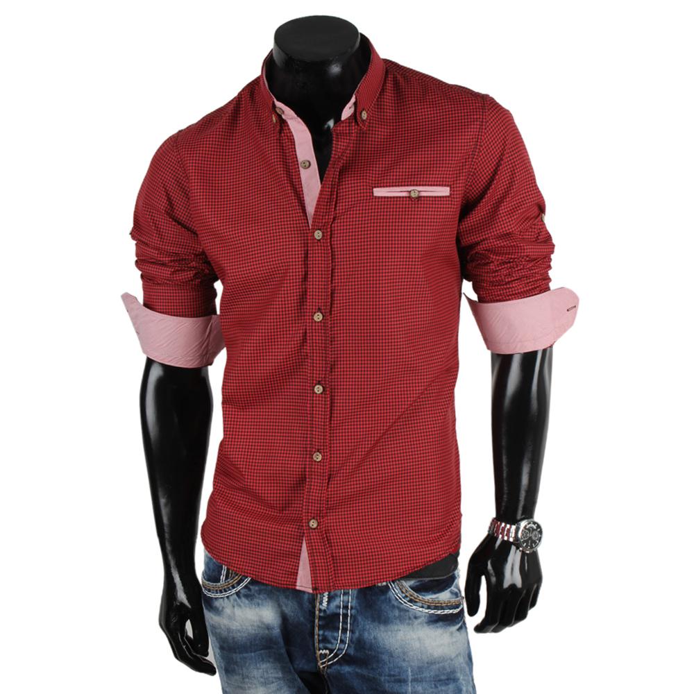 stylische herren hemden 86852 klassisch langarm slim fit polo shirt t shirt neu ebay. Black Bedroom Furniture Sets. Home Design Ideas