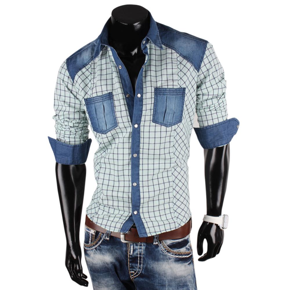 stylische herren hemden 86852 klassisch langarm slim fit. Black Bedroom Furniture Sets. Home Design Ideas