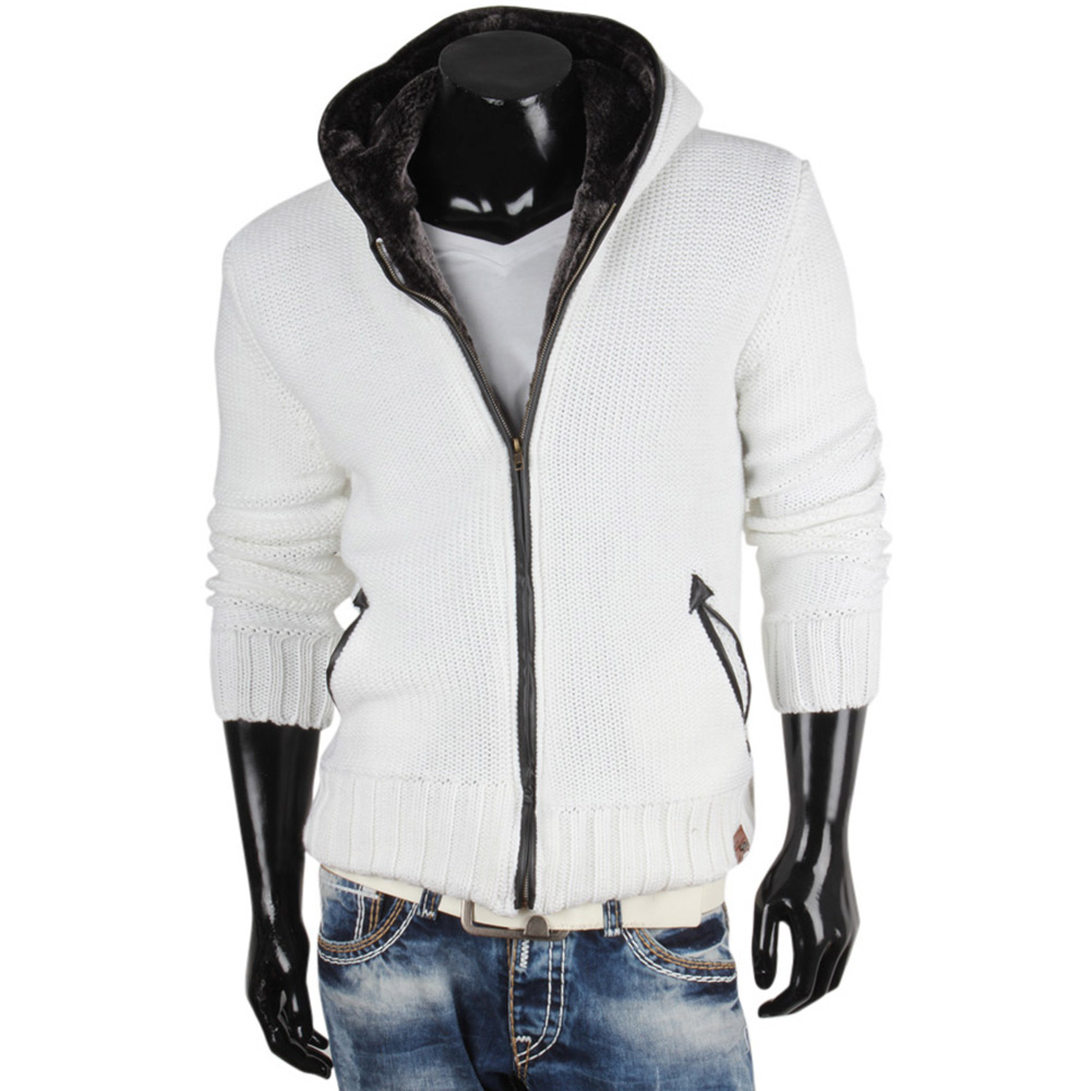 tazzio herren strickjacke 85734 grobstrick pullover pulli sweatshirt jacke neu ebay. Black Bedroom Furniture Sets. Home Design Ideas