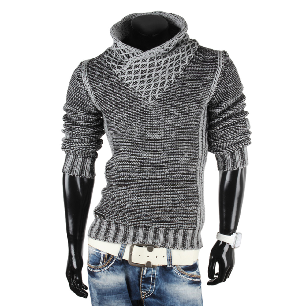 REDBRIDGE by Cipo&Baxx Top Herren Pullover 85760 Grobstrick Sweatshirt Jacke Neu