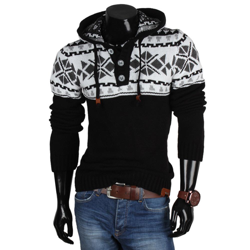 tazzio top herren kapuzenpullover 85928 norweger grobstrick sweatshirt jacke neu ebay. Black Bedroom Furniture Sets. Home Design Ideas