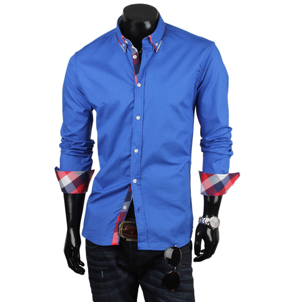 herren slim fit hemd 85171 stehkragen t shirt poloshirt. Black Bedroom Furniture Sets. Home Design Ideas