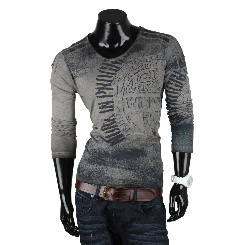 RUSTY NEAL Herren Longsleeve 87093 T-Shirt Langarmshirt Hemd Sweatshirt Neu