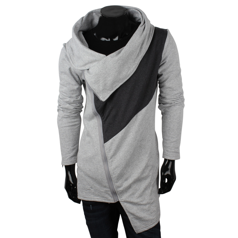 emimay top herren sweatjacke 87147 pullover long cardigan. Black Bedroom Furniture Sets. Home Design Ideas