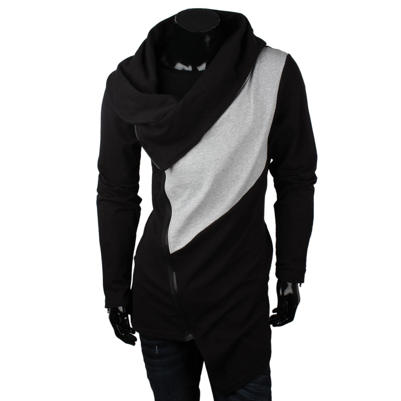 emimay herren sweatjacke 87147 pullover long cardigan. Black Bedroom Furniture Sets. Home Design Ideas