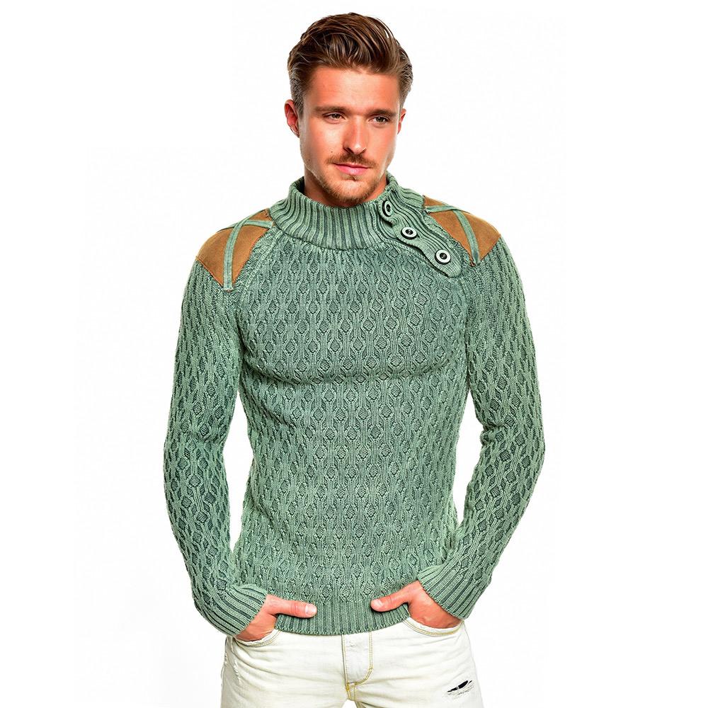 tazzio top herren pullover 85793 grobstrick sweatshirt strickjacke jacke neu. Black Bedroom Furniture Sets. Home Design Ideas