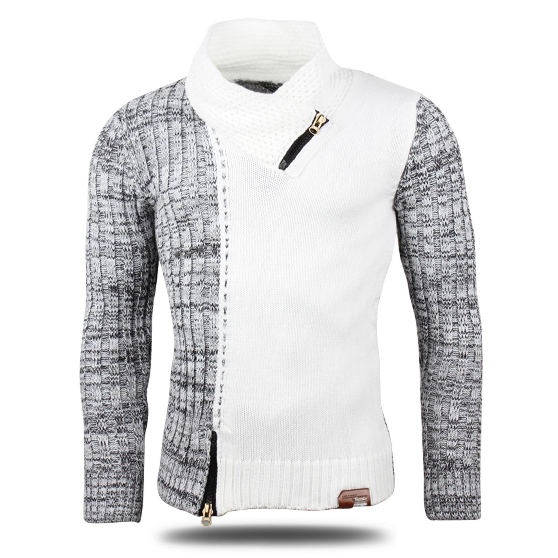 tazzio herren pullover 86877 grobstrick pulli sweatshirt strickjacke jacke neu ebay. Black Bedroom Furniture Sets. Home Design Ideas