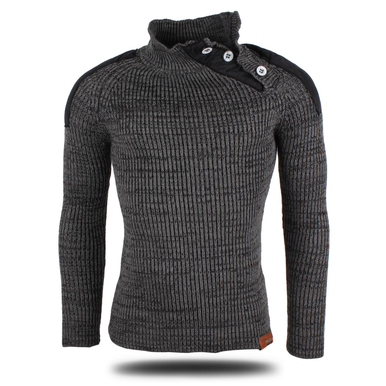 tazzio herren pullover 86890 grobstrick pulli sweatshirt. Black Bedroom Furniture Sets. Home Design Ideas