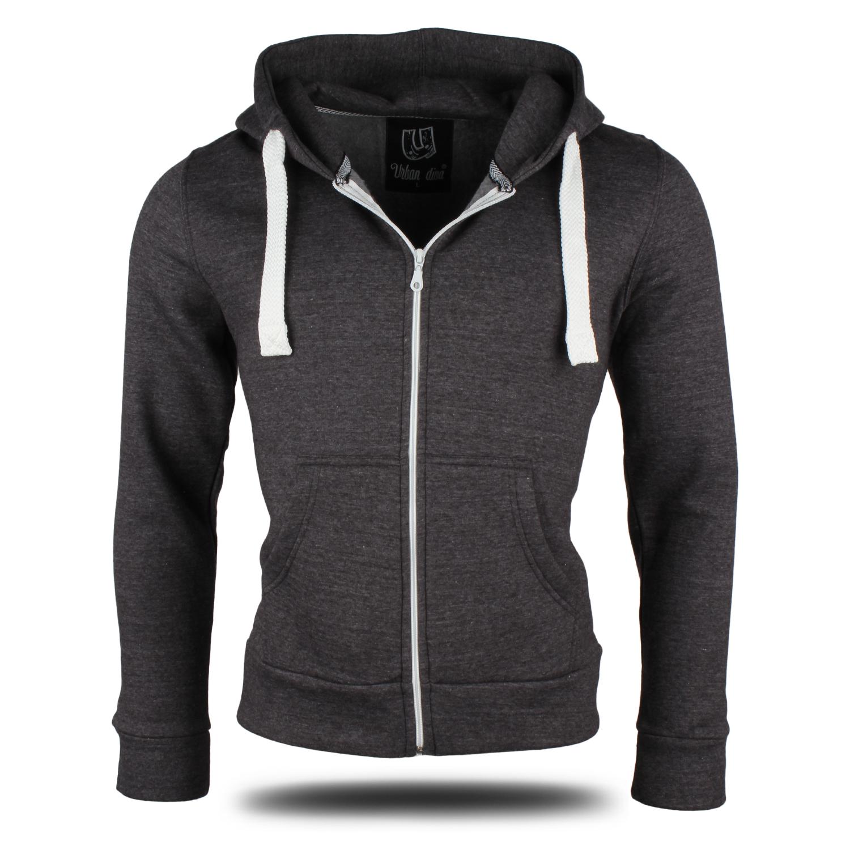 damen herren unisex zipp hoodie 87142 kapuzen pullover jacke sweat shirt neu. Black Bedroom Furniture Sets. Home Design Ideas